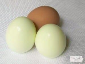Como cocer huevos en Mycook