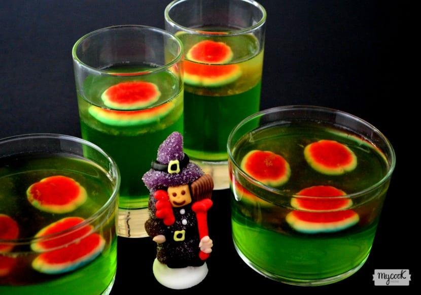 Gelatina para Halloween en Mycook