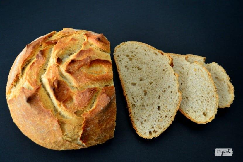 Pan integral en Mycook y en cocotte