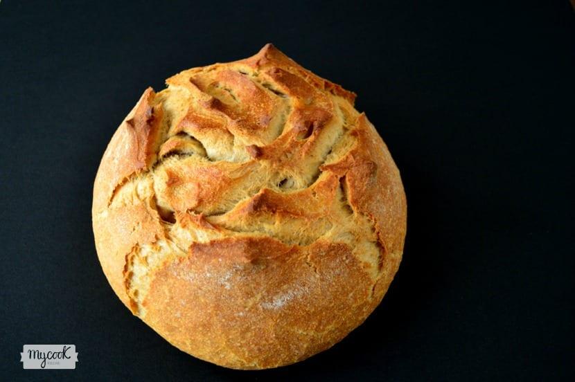 Pan integral rápido en Cocotte