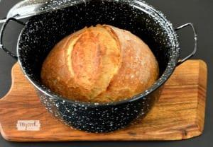 Pan rápido amasado en Mycook