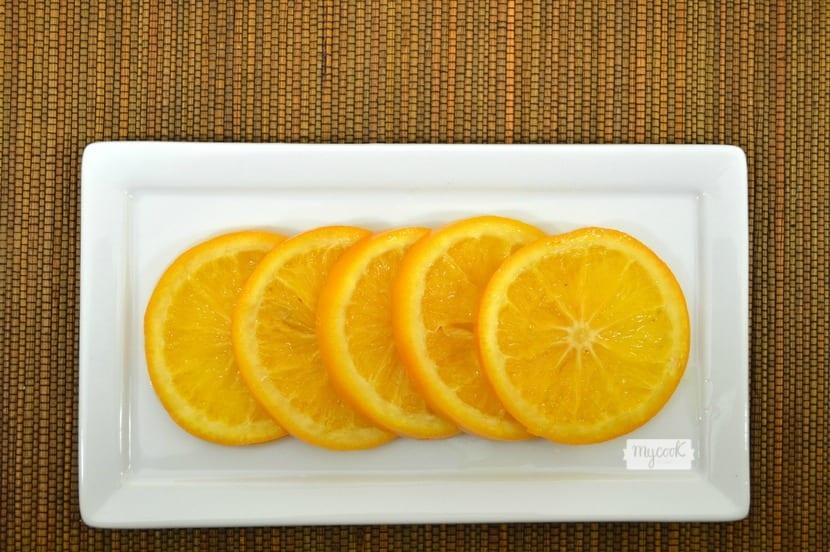 Naranjas confitadas en Mycook