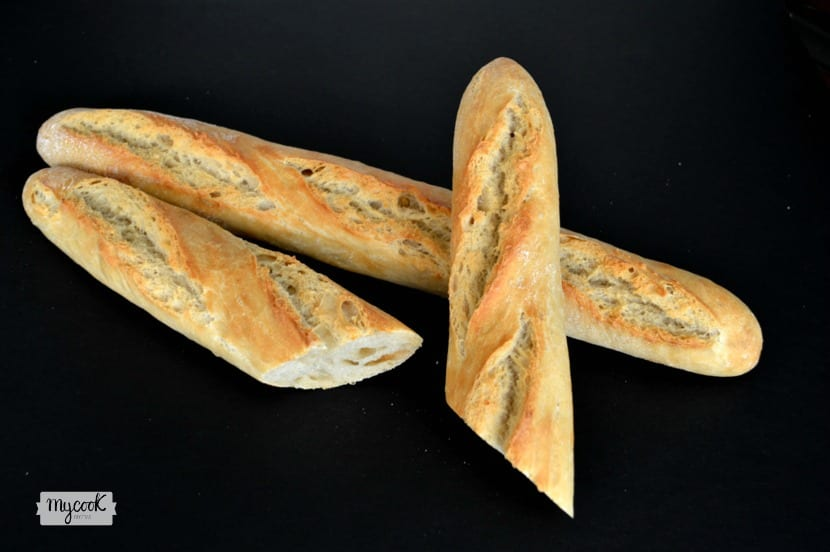 Baguettes con poolish