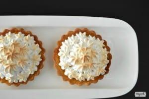 Tarta de limon y merengue
