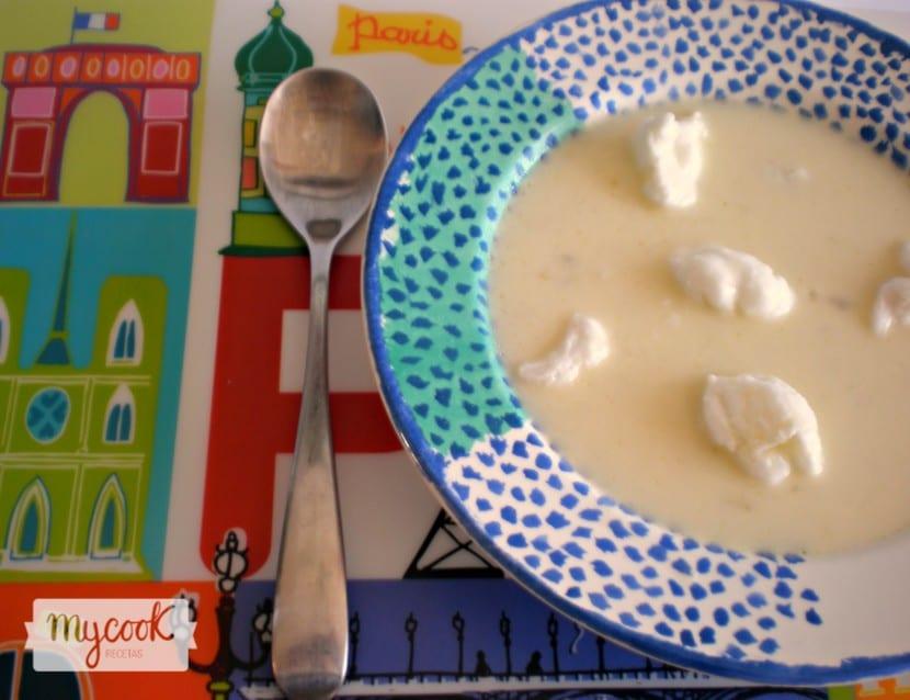 Sopa de mayonesa