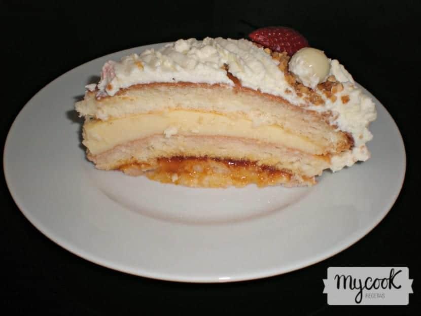 Tarta de cumpleaños sin gluten