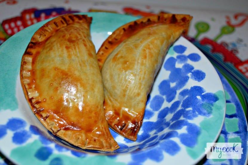 Empanadillas de champiñones y queso