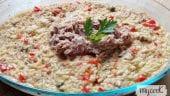 arroz con atún y pimientos