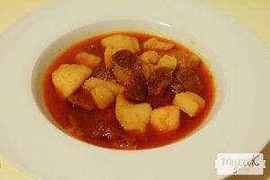 Patatas a la riojana veganas