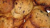 Cookies veganas con chocolate