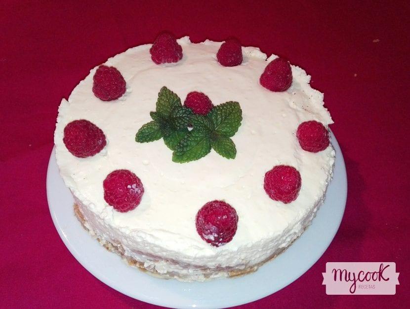tarta cheesecake de limón