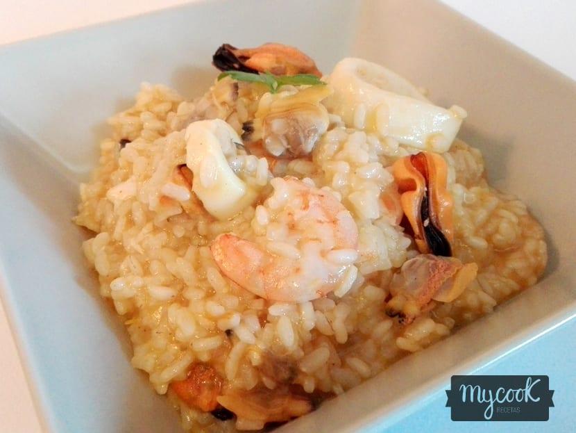 arroz meloso de marisco