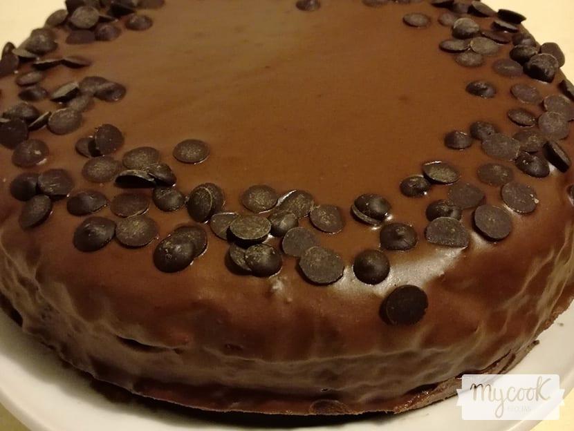 Receta de tarta de chocolate vegana para Mycook