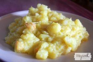 Trinxat de col y patata