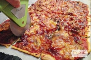 masa de pizza rápida