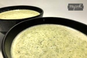 crema de brócoli y puerro