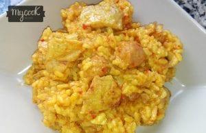 arroz con carne