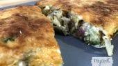 pastel de puerro y jamón1