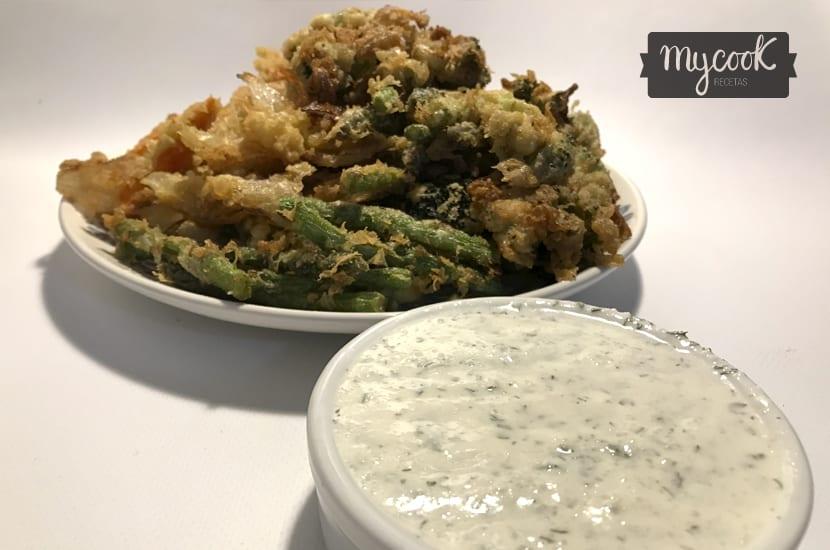 salsa para tempura