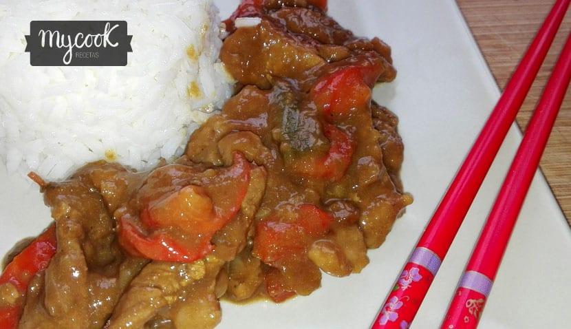 ternera con pimientos y soja1