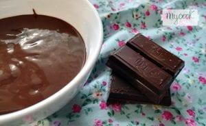 cobertura de chocolate