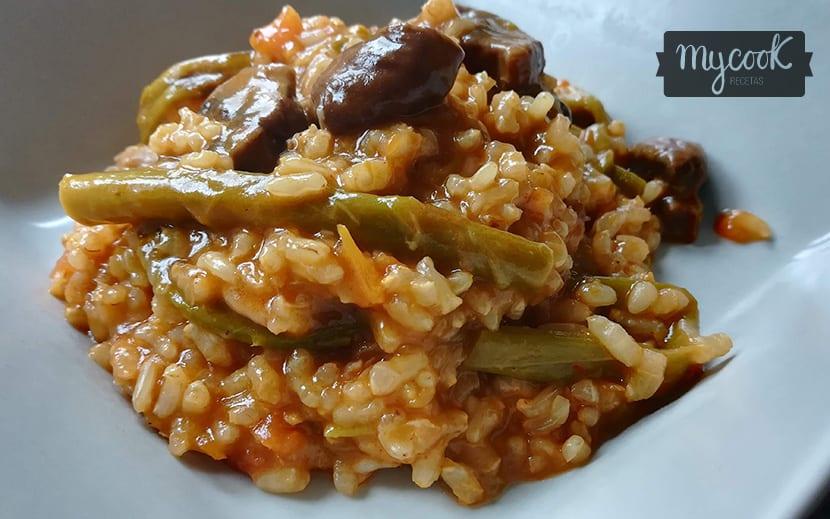 arroz-integral-con-verduras-y-setas