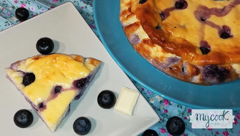 cheesecake-de-chocolate-blanco-y-arándanos