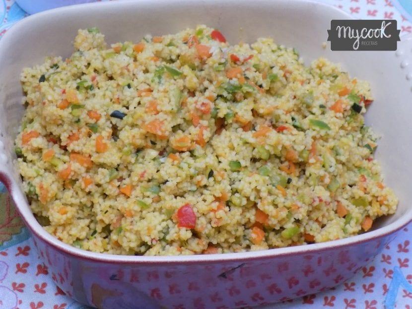 Couscous de verduras