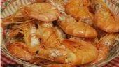 gambones a la sal en Mycook