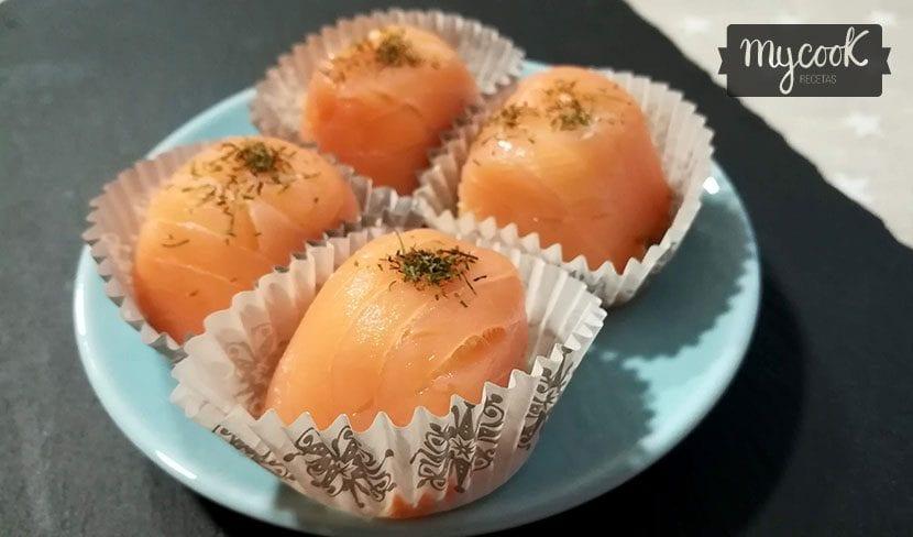 bombones de salmon
