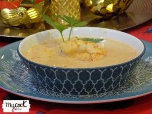 Crema de marisco con Mycook