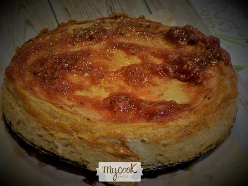 Tarta de queso La Viña con Mycook