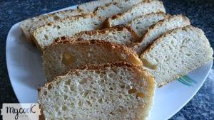 Pan para torrijas sin gluten ni lactosa