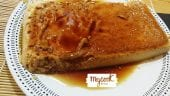 Flan de miel con Mycook