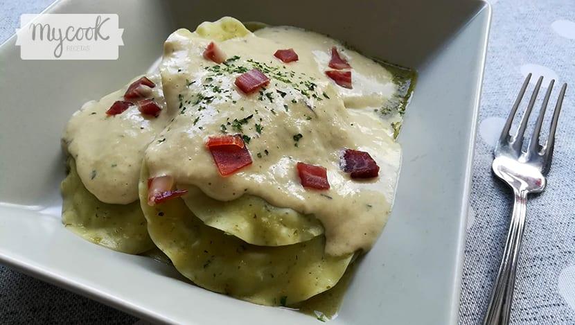 salsa de alcachofas para pasta