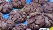 Galletas craqueladas de chocolate con Mycook