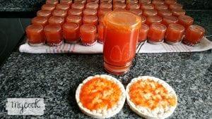 Dulce de tomate con clavos