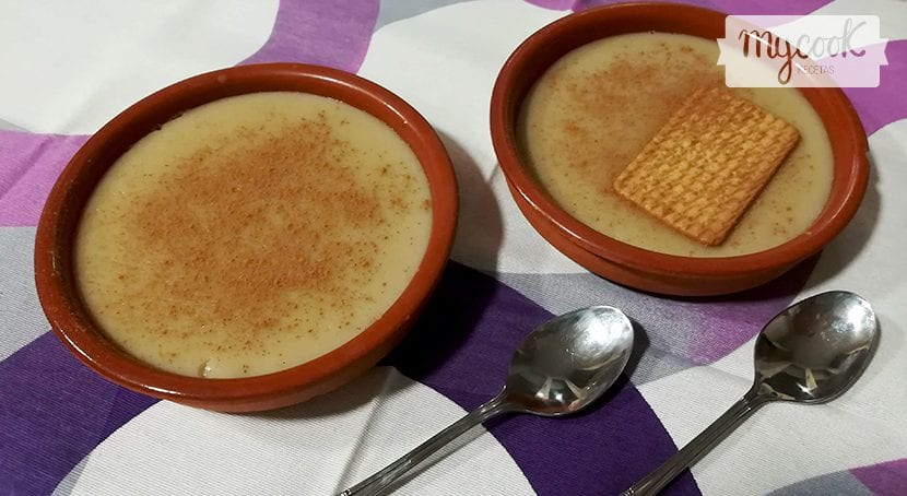 natillas de horchata