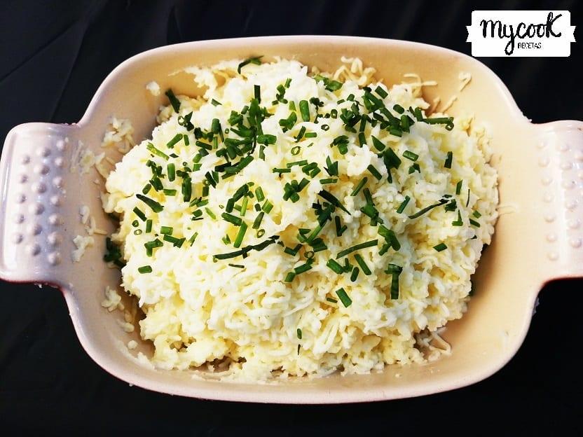 Puré de patatas con cebollino con Mycook