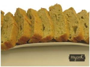 Lemon zucchini cake con Mycook