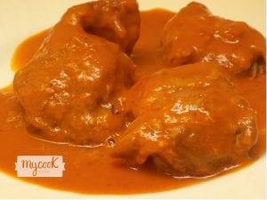 Carrilleras en salsa con Mycook