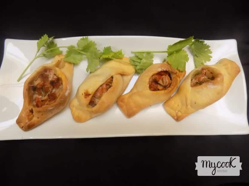 Empanadillas árabes o fatayer con Mycook
