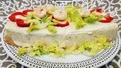 Pastel de pescados y langostinos con Mycook