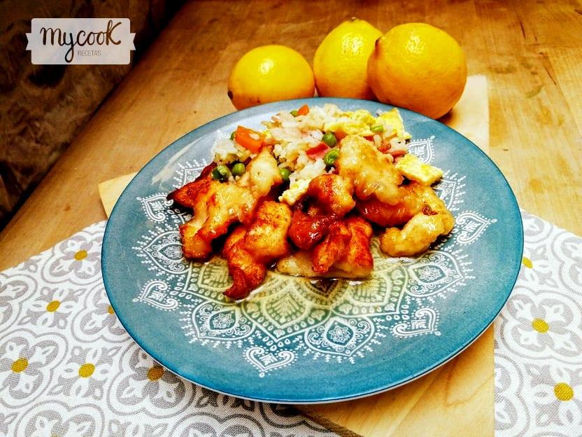 Pollo al limón con Mycook