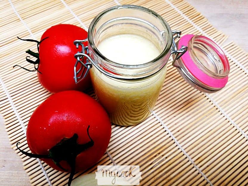 Aderezo para ensalada griega con Mycook
