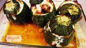 Calabacines luna rellenos con Mycook