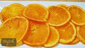Naranjas confitadas en almíbar