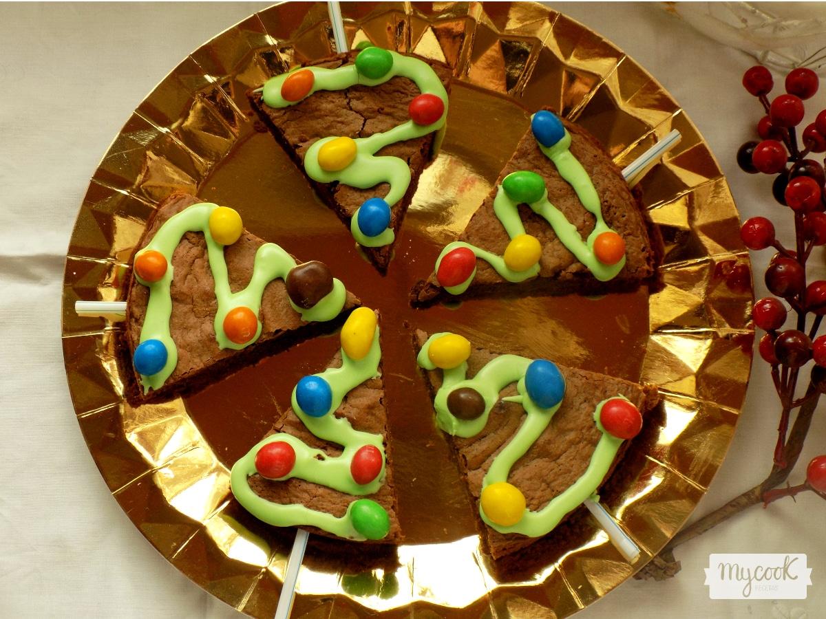 Brownies de Noel