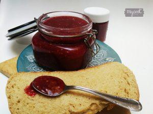 Mermelada de frutos rojos y vainilla