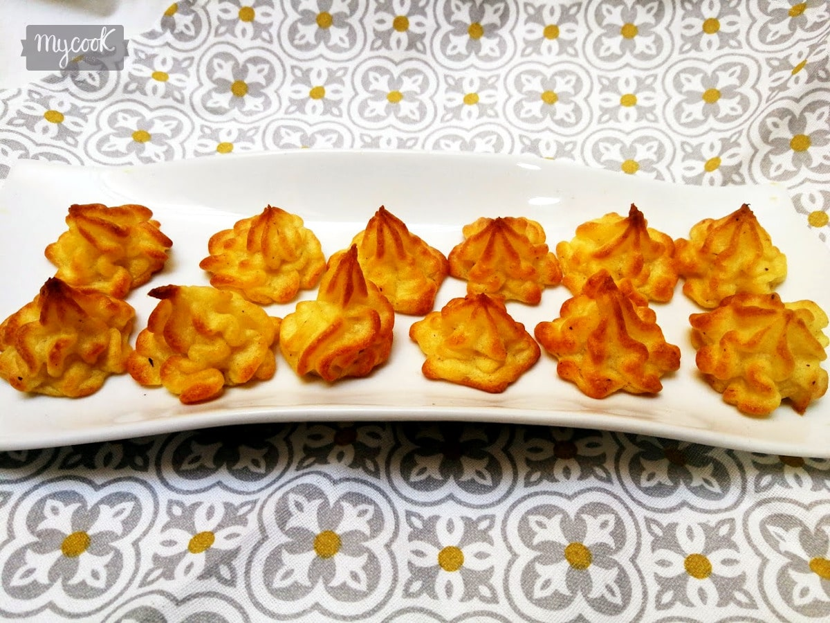 Patatas duquesa con Mycook
